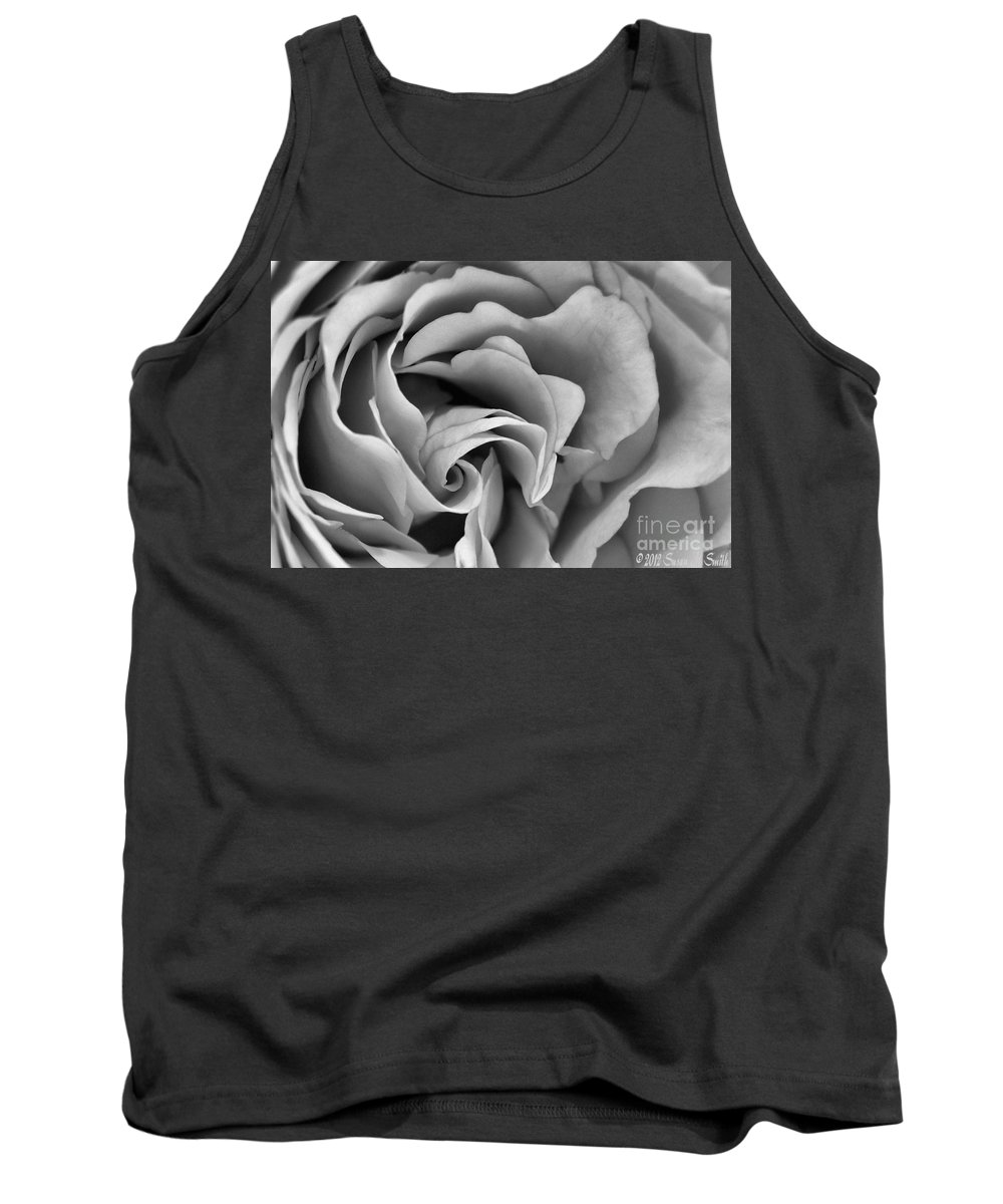 Flower Tank Top featuring the photograph Where It Begins by Susan Smith