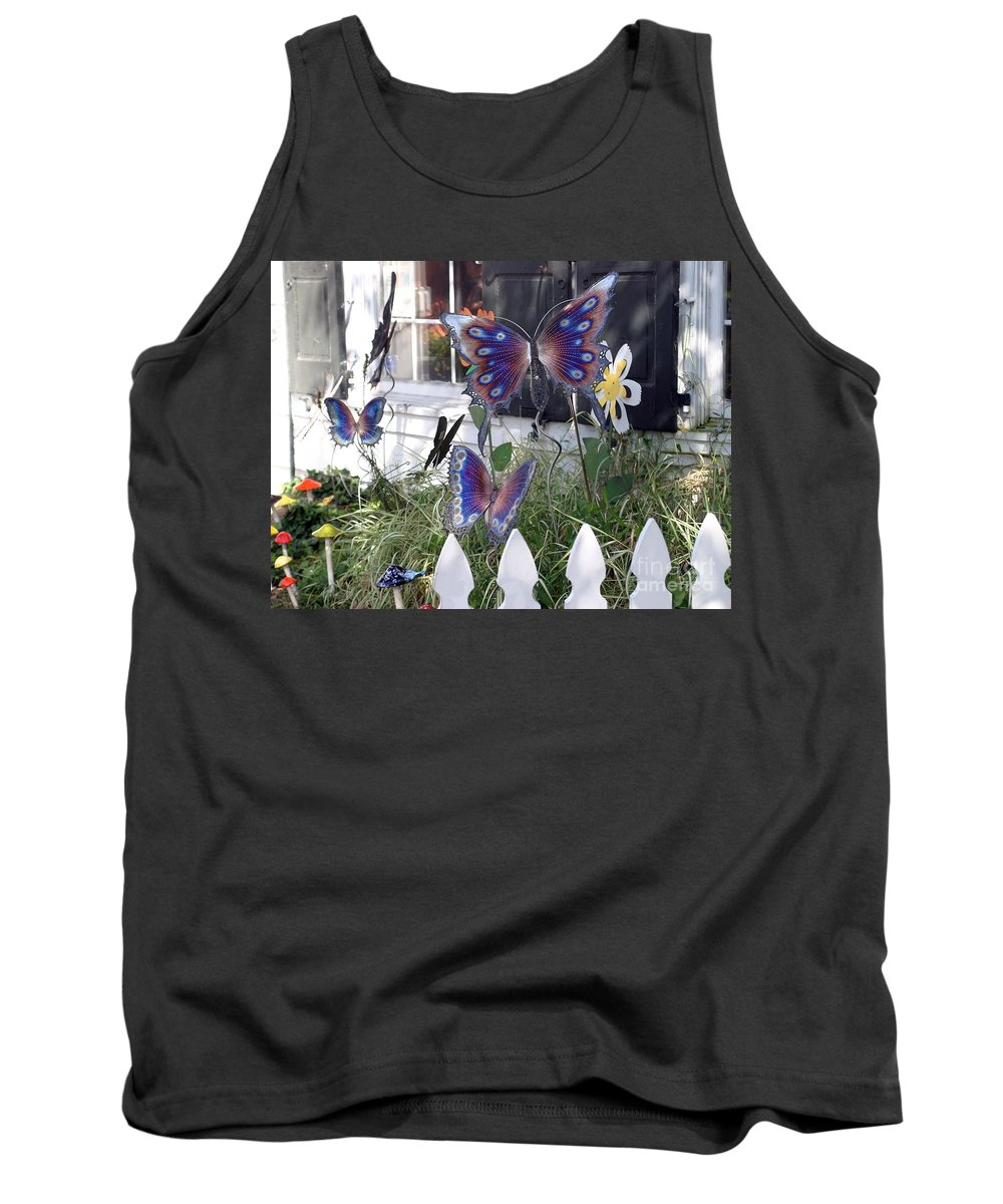 Window Tank Top featuring the photograph Whimsical Window by Living Color Photography Lorraine Lynch