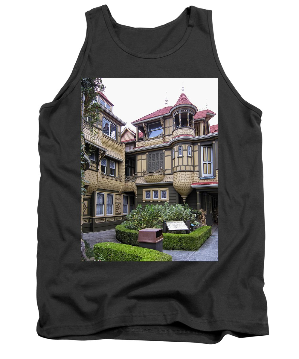 Winchester Tank Top featuring the photograph Winchester House - Door To Nowhere by Daniel Hagerman