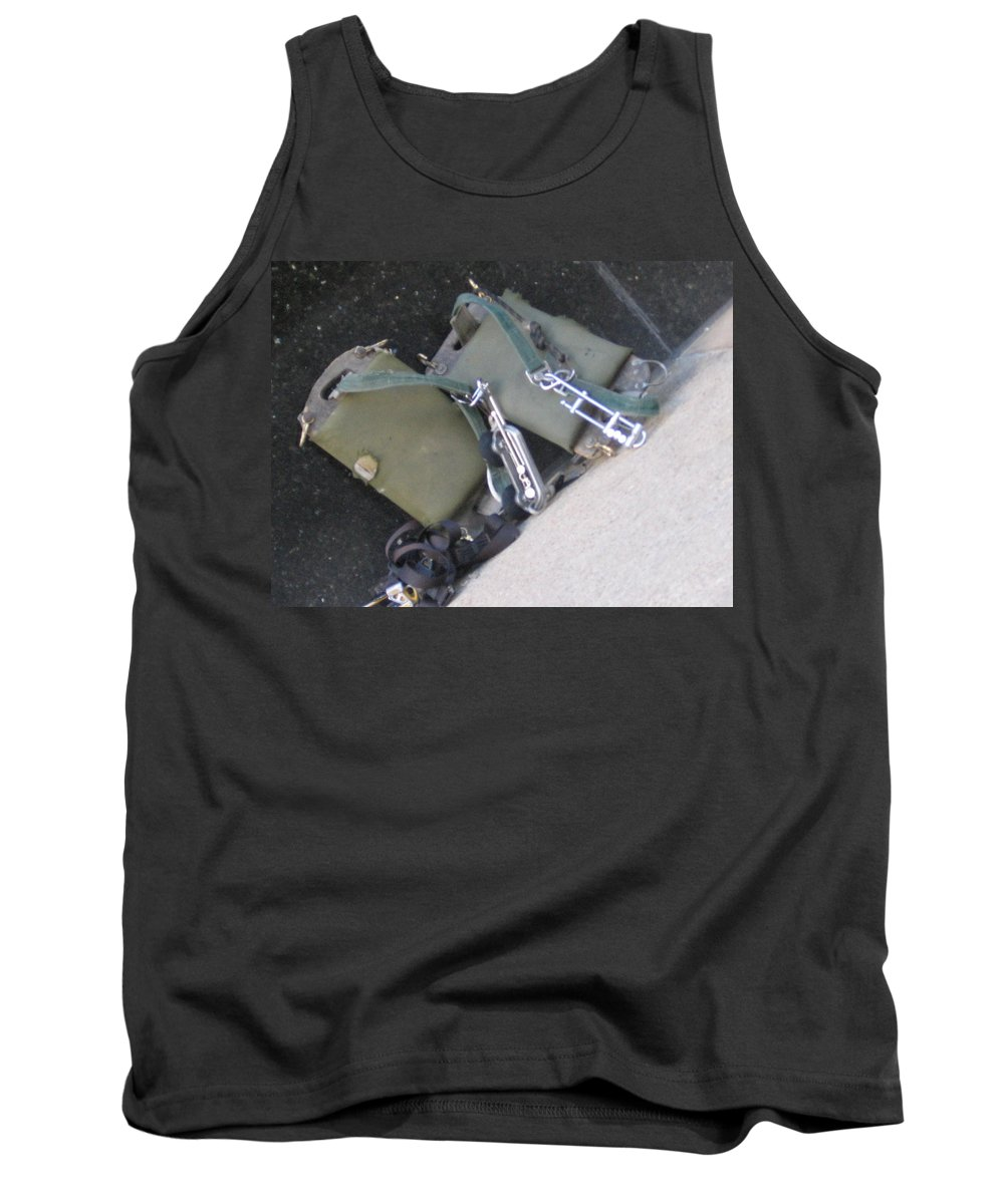 Window Cleaner Tank Top featuring the photograph Window Clearners by Amy Hosp