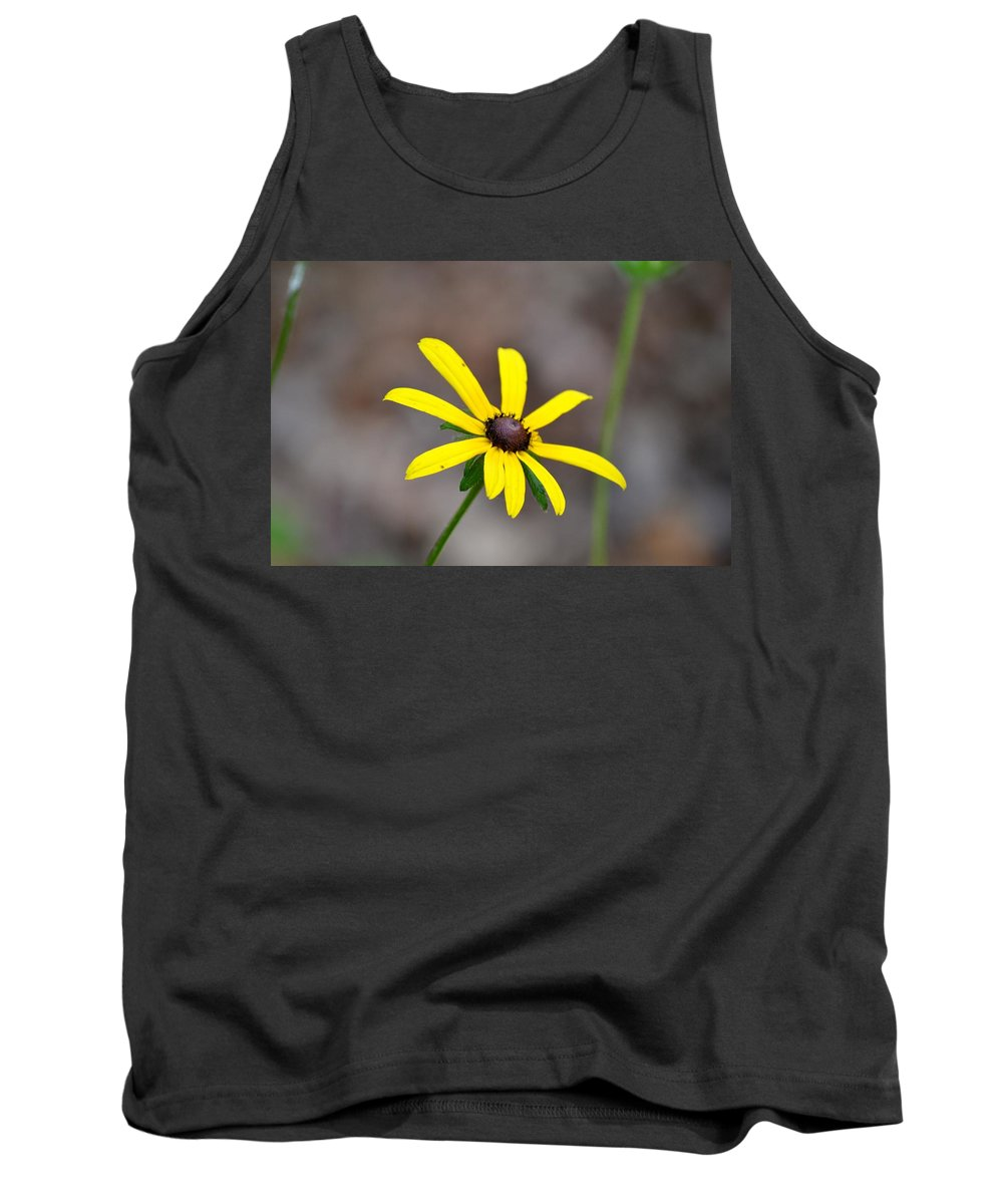 Reaching Tank Top featuring the photograph Yellow Star by Maria Urso