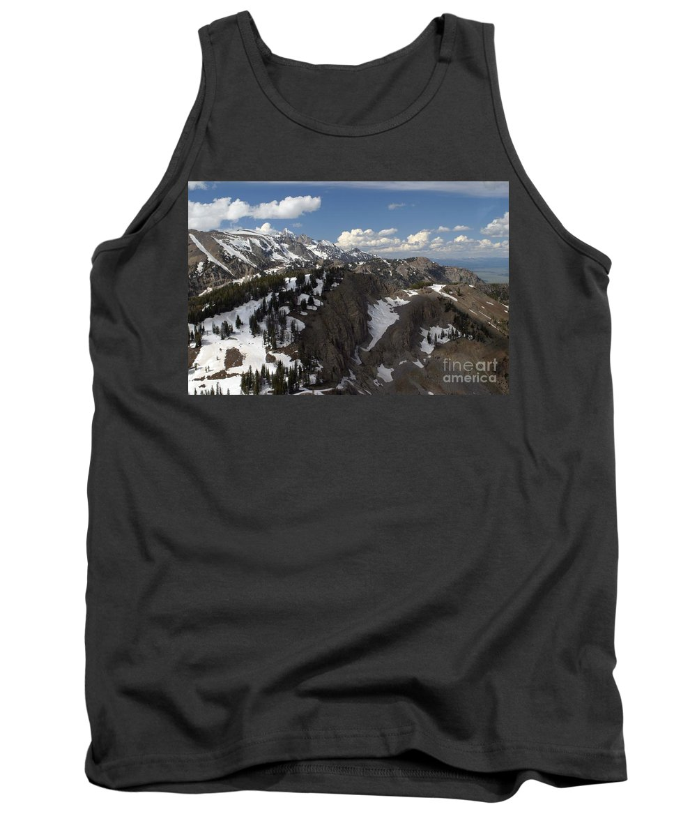 Rendezvous Mountain Tank Top featuring the photograph You Can See For Miles by Living Color Photography Lorraine Lynch