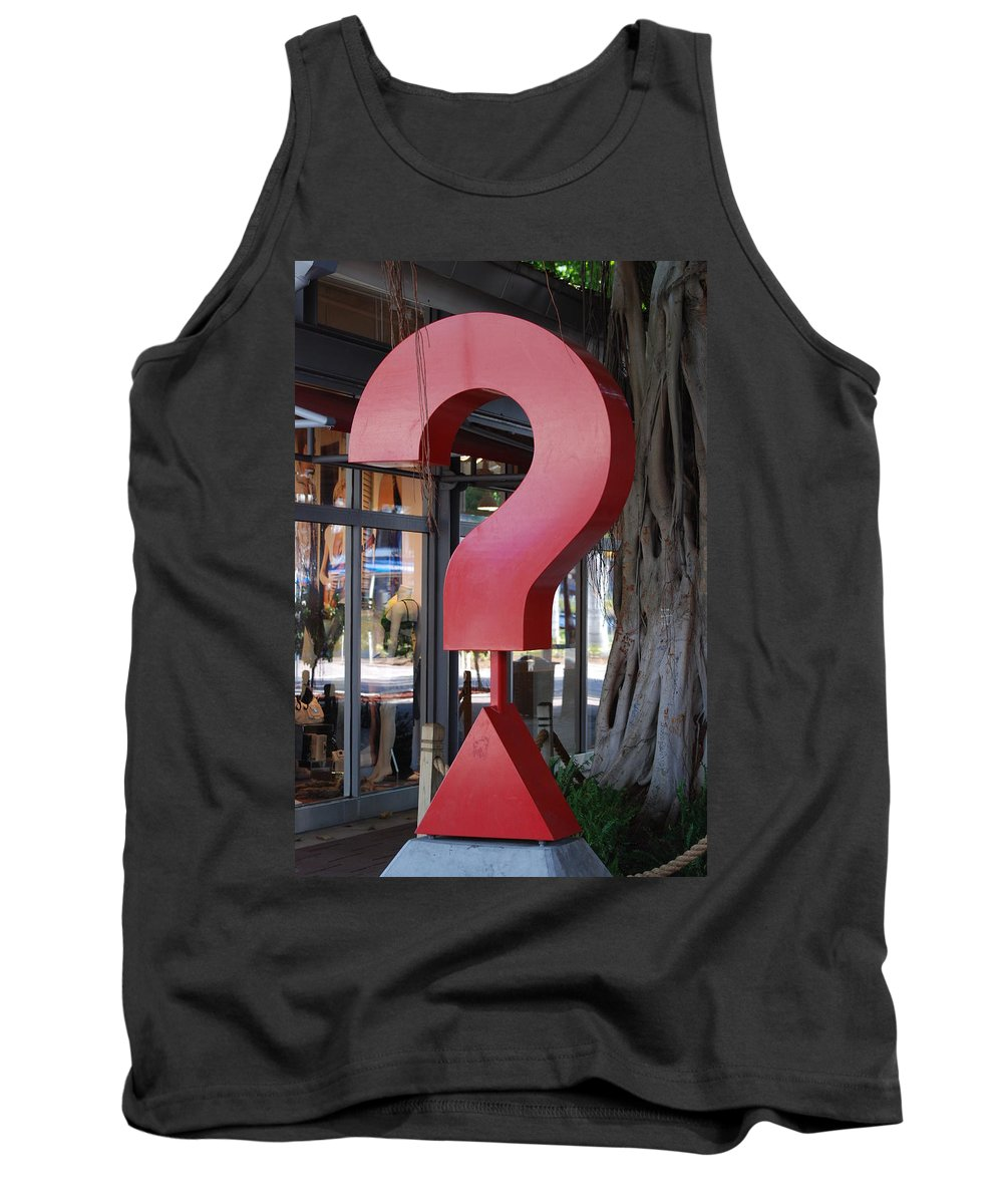 Abstract Tank Top featuring the photograph ......... by Rob Hans