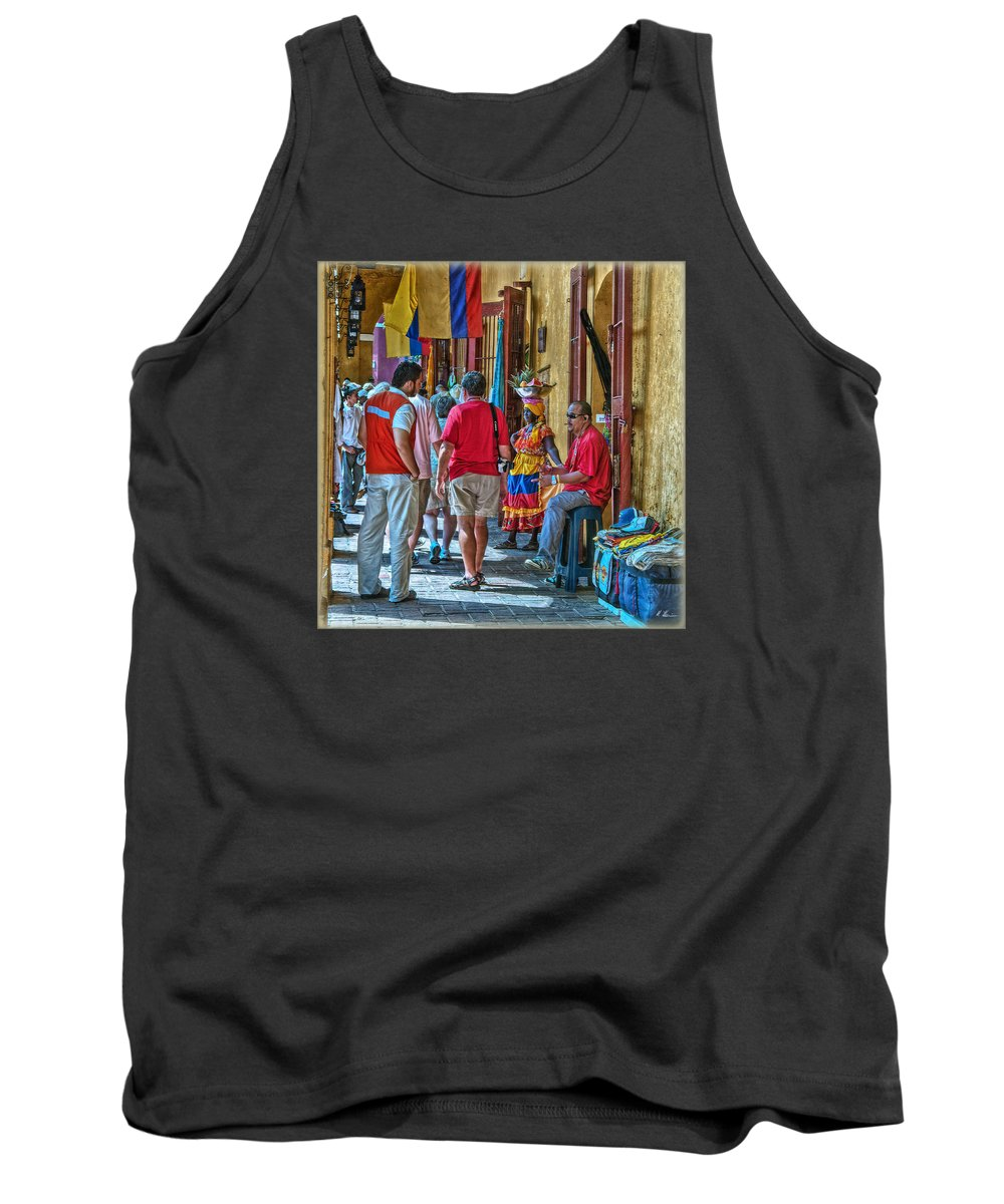 Shopping Tank Top featuring the photograph Shopping Arcades by Hanny Heim