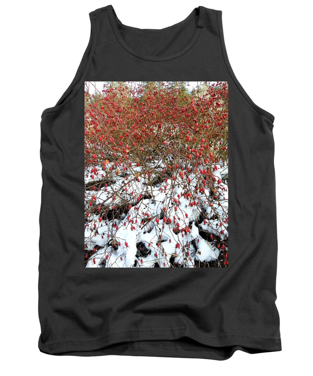 Winter Tank Top featuring the photograph Winter Harvest 2 by Will Borden
