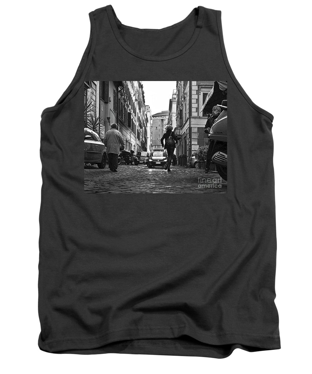 Rome Tank Top featuring the photograph A33 by Tom Griffithe