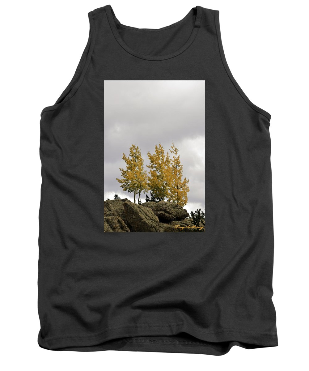 Autumn Tank Top featuring the photograph An Ode To September by TroyAnthony Schermer
