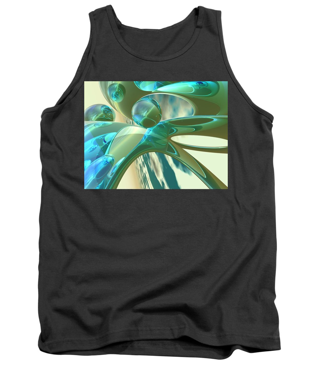 Scott Piers Tank Top featuring the painting Ashton by Scott Piers