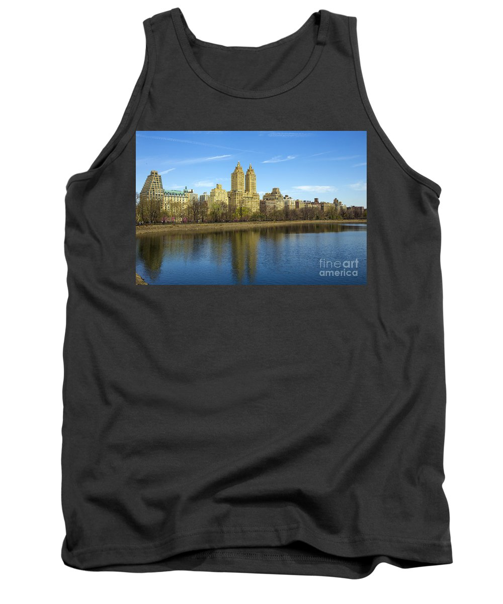Park Tank Top featuring the photograph Central Park by Paul Fell