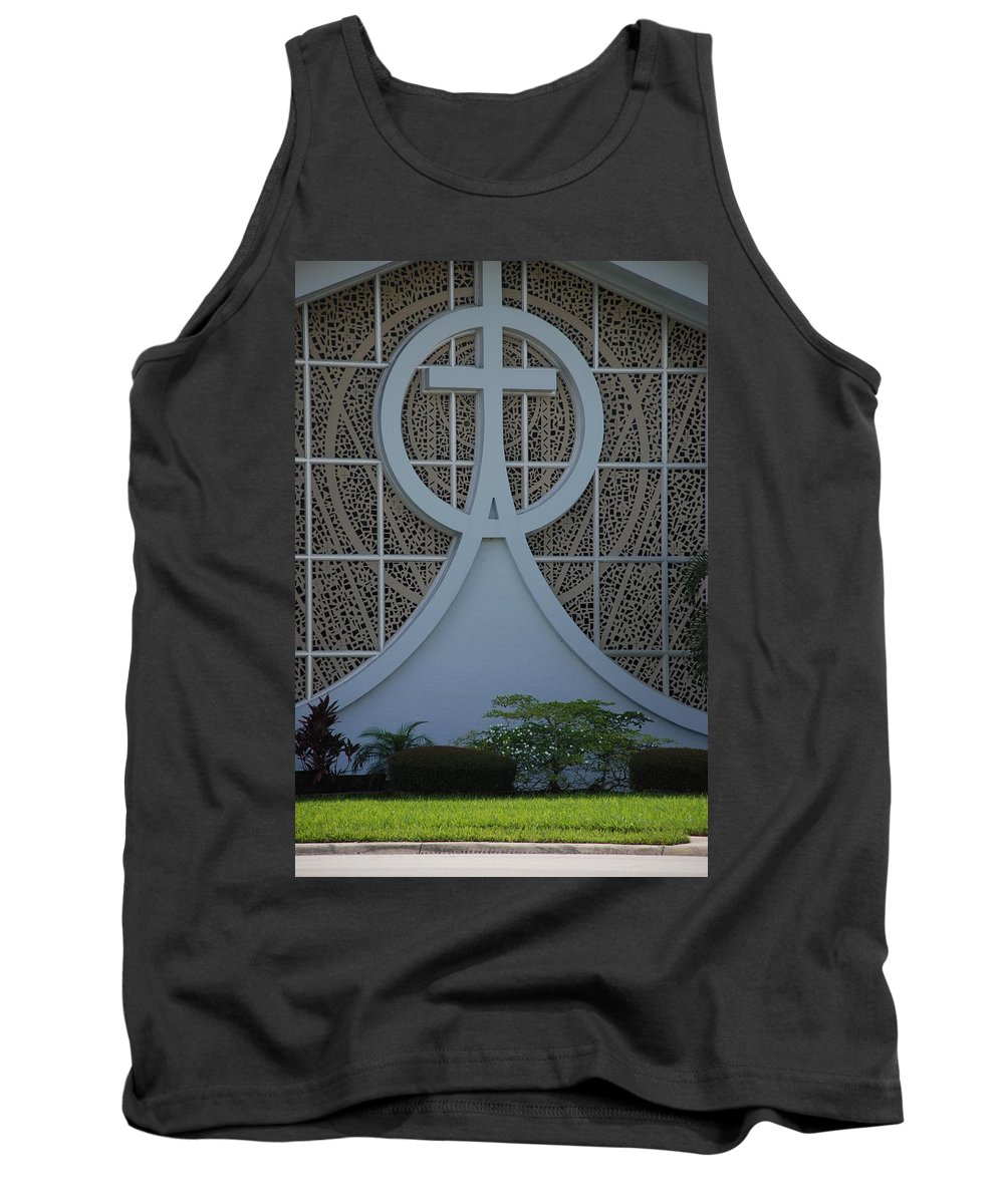 Church Tank Top featuring the photograph Circle T Church by Rob Hans