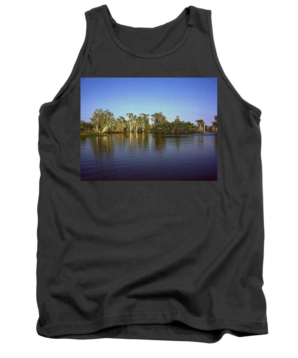 Australia Tank Top featuring the photograph Cooinda by Gary Wonning