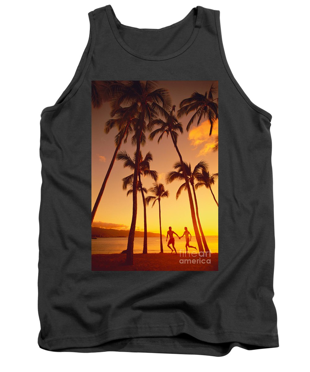 Affection Tank Top featuring the photograph Couples Vacation by Dana Edmunds - Printscapes