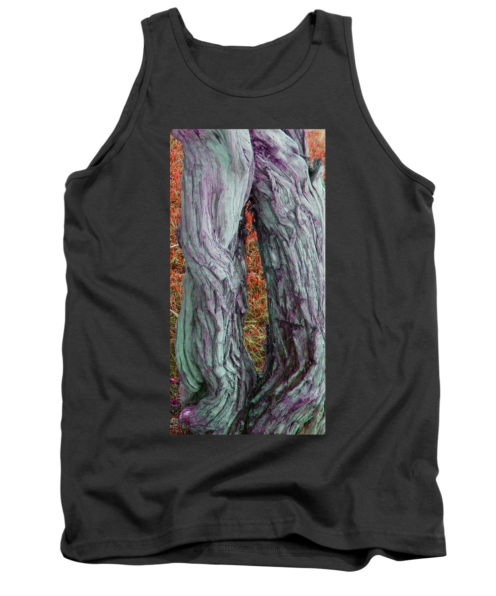 Abstract Tank Top featuring the photograph Cowboy Chaps by Lenore Senior