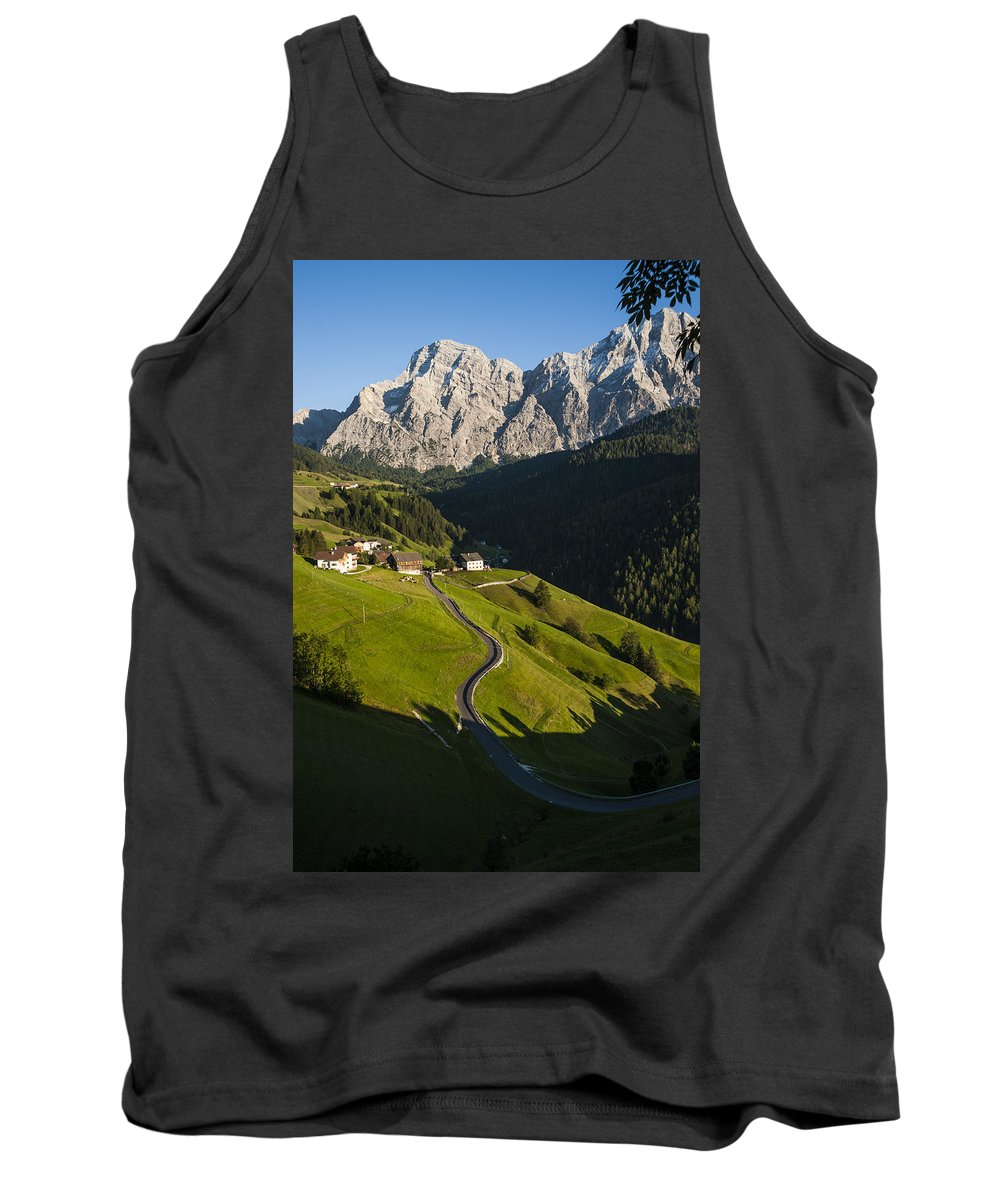 Mountains Tank Top featuring the photograph Dolomiti Landscape by Massimo Battaglia