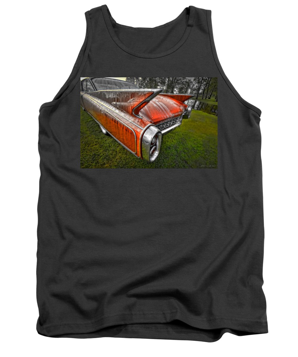 Transportation Tank Top featuring the photograph Eldorodo by Jerry Golab