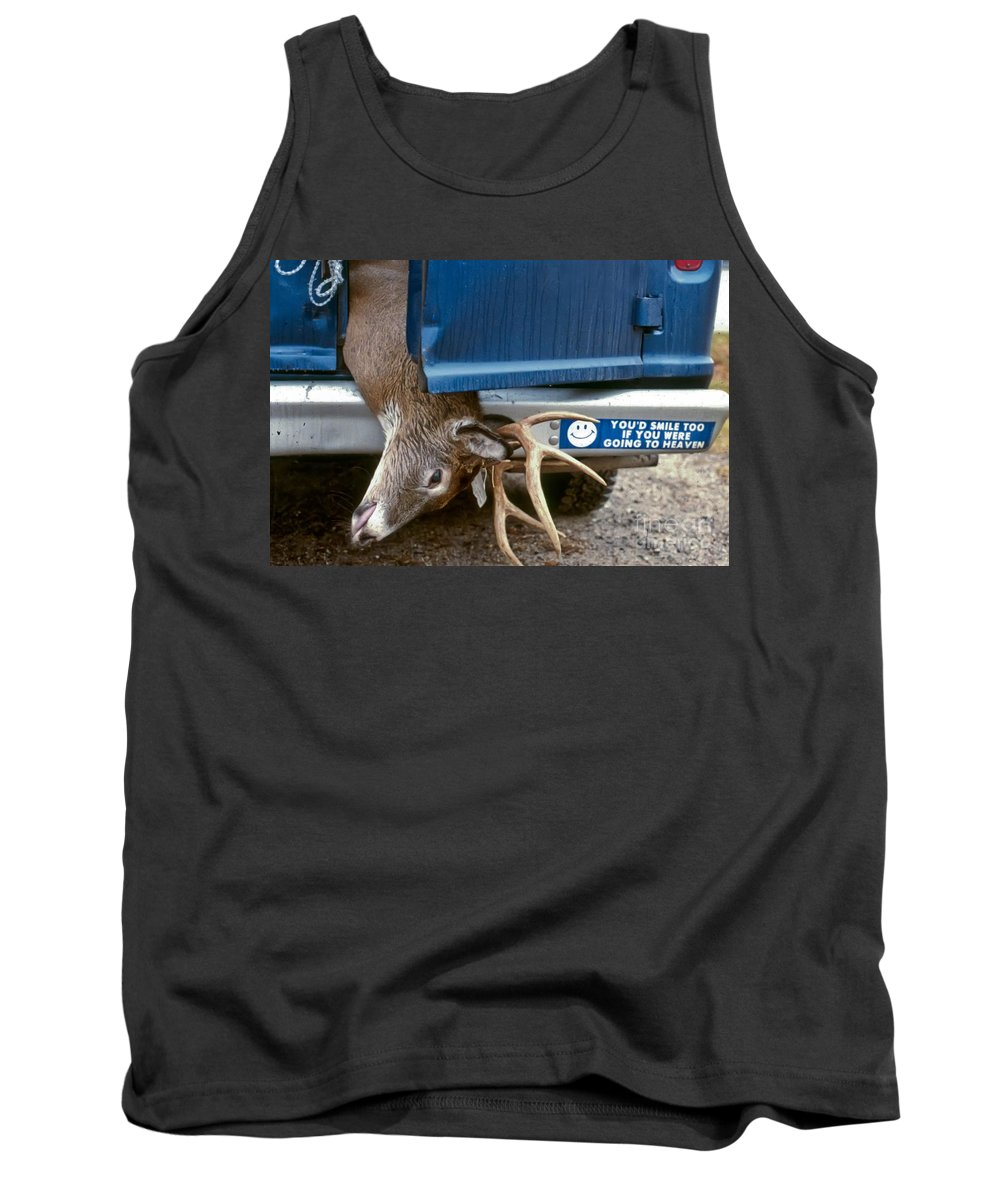 Deer Tank Top featuring the photograph Eternal Reward by Thomas Marchessault