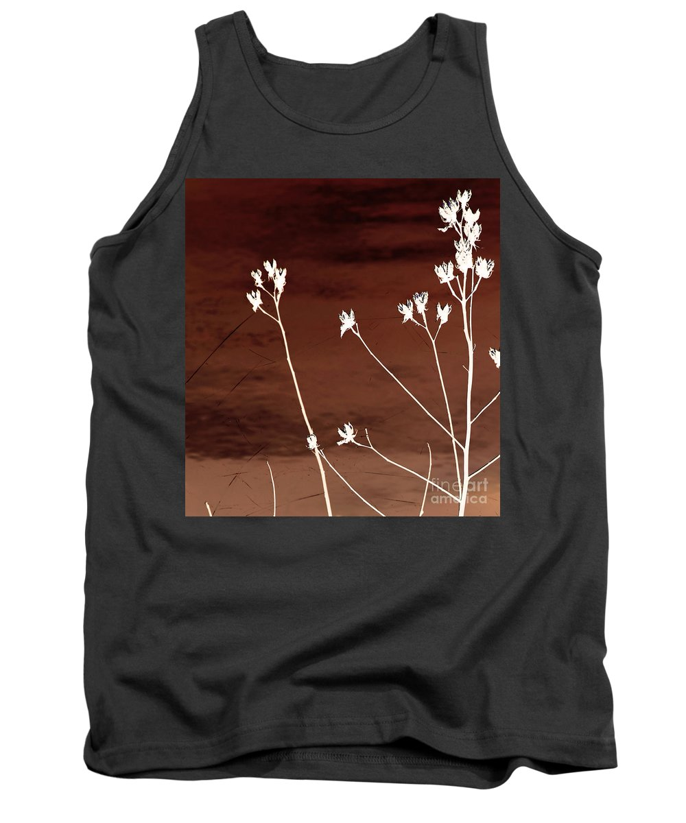 Flowers Tank Top featuring the photograph Floral by Amanda Barcon