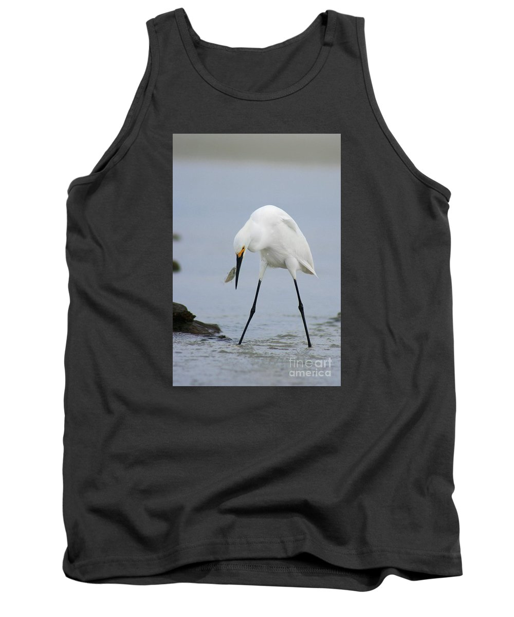 Tank Top featuring the photograph Got One by Angela Rath