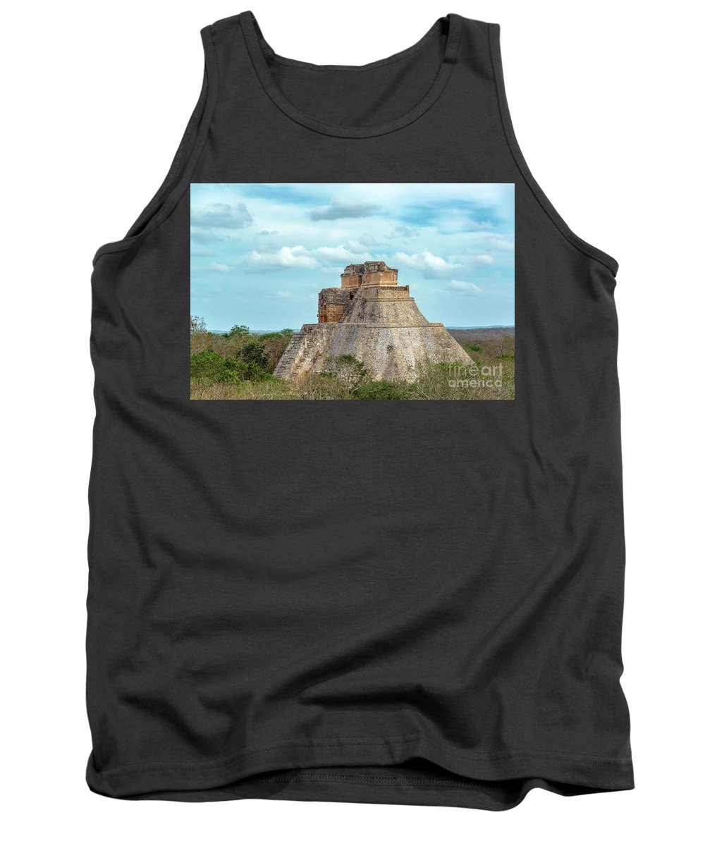 Mexico Tank Top featuring the photograph House Of The Magician by Jess Kraft