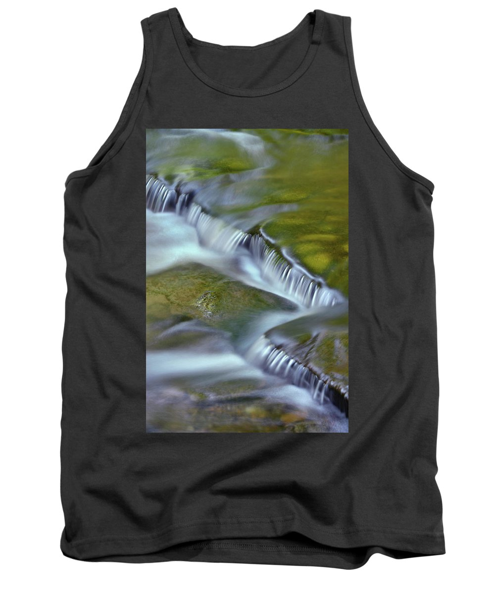 Letchworth Falls State Park Tank Top featuring the photograph Letchworth Falls Sp Wolfe Creek by Dean Hueber
