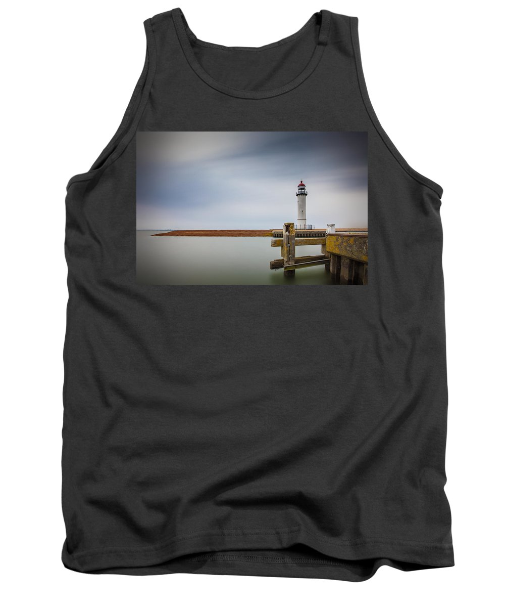 Photography Tank Top featuring the photograph Lighthouse by Vincent Ferooz