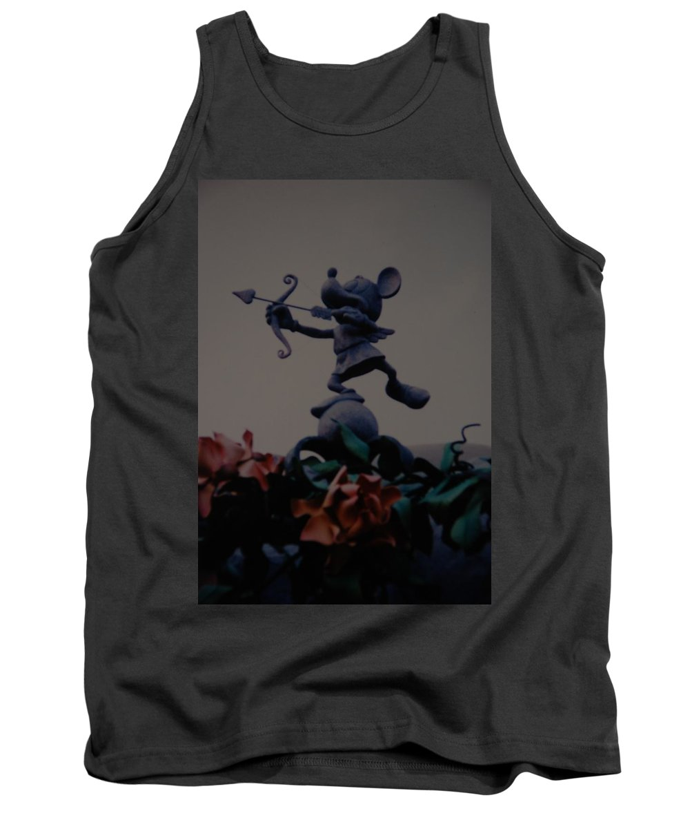 Micky Mouse Tank Top featuring the photograph Mickey Mouse by Rob Hans