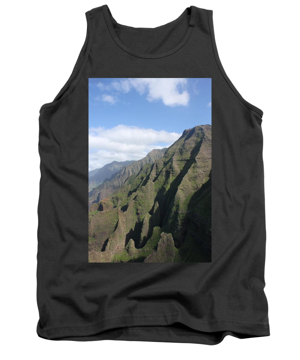 Napali Tank Top featuring the photograph Na Pali Coast by Lauri Novak