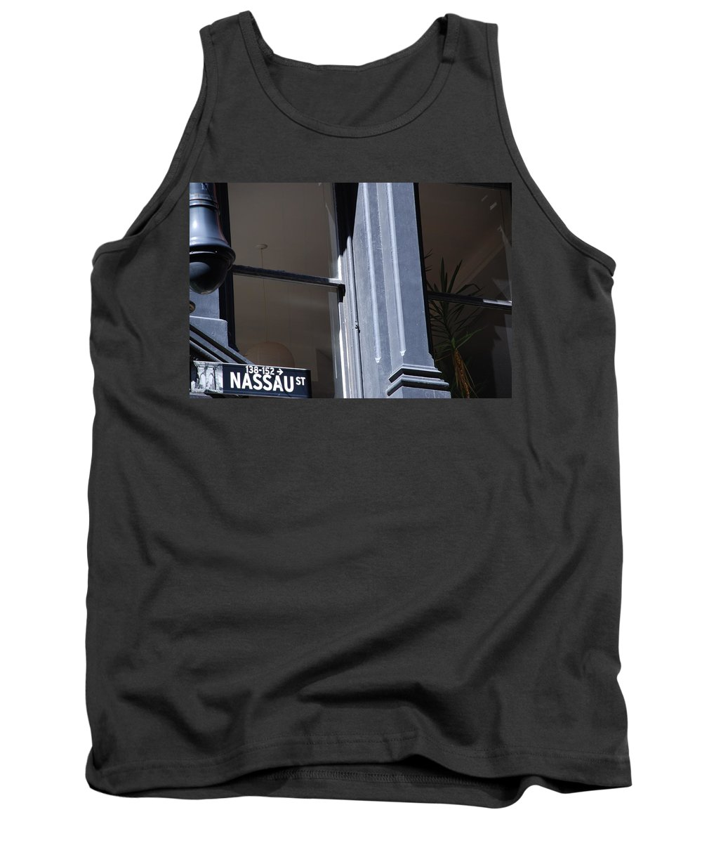 New York City Tank Top featuring the photograph Nassau Street by Rob Hans