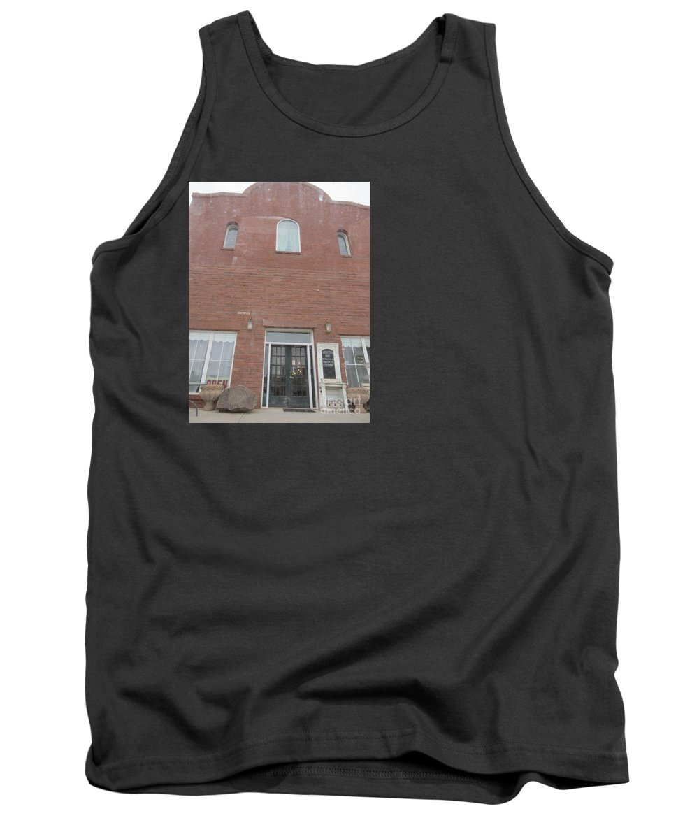 Old Tank Top featuring the photograph Western Storefront by Frederick Holiday