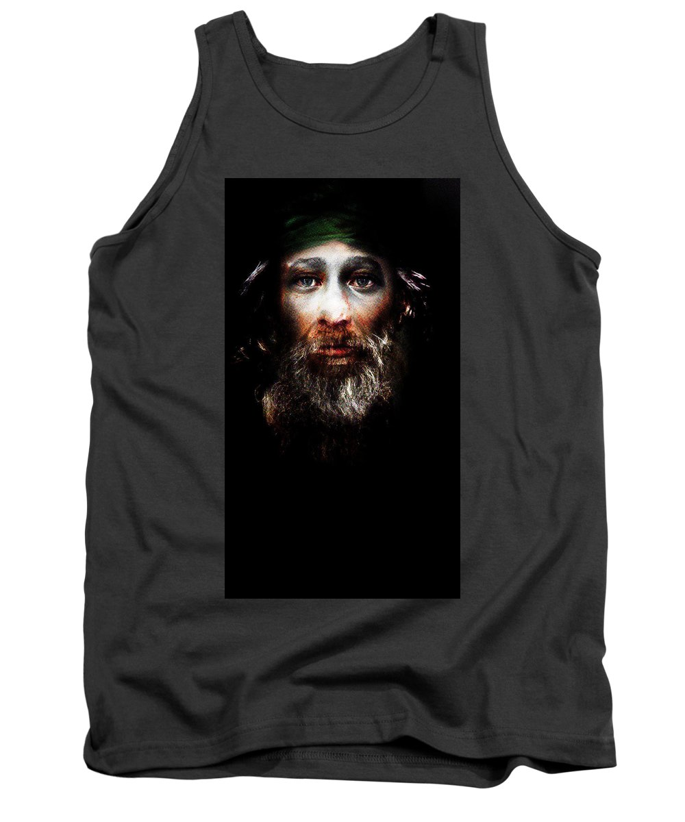 Tank Top featuring the painting Older Brother by Maciej Mackiewicz