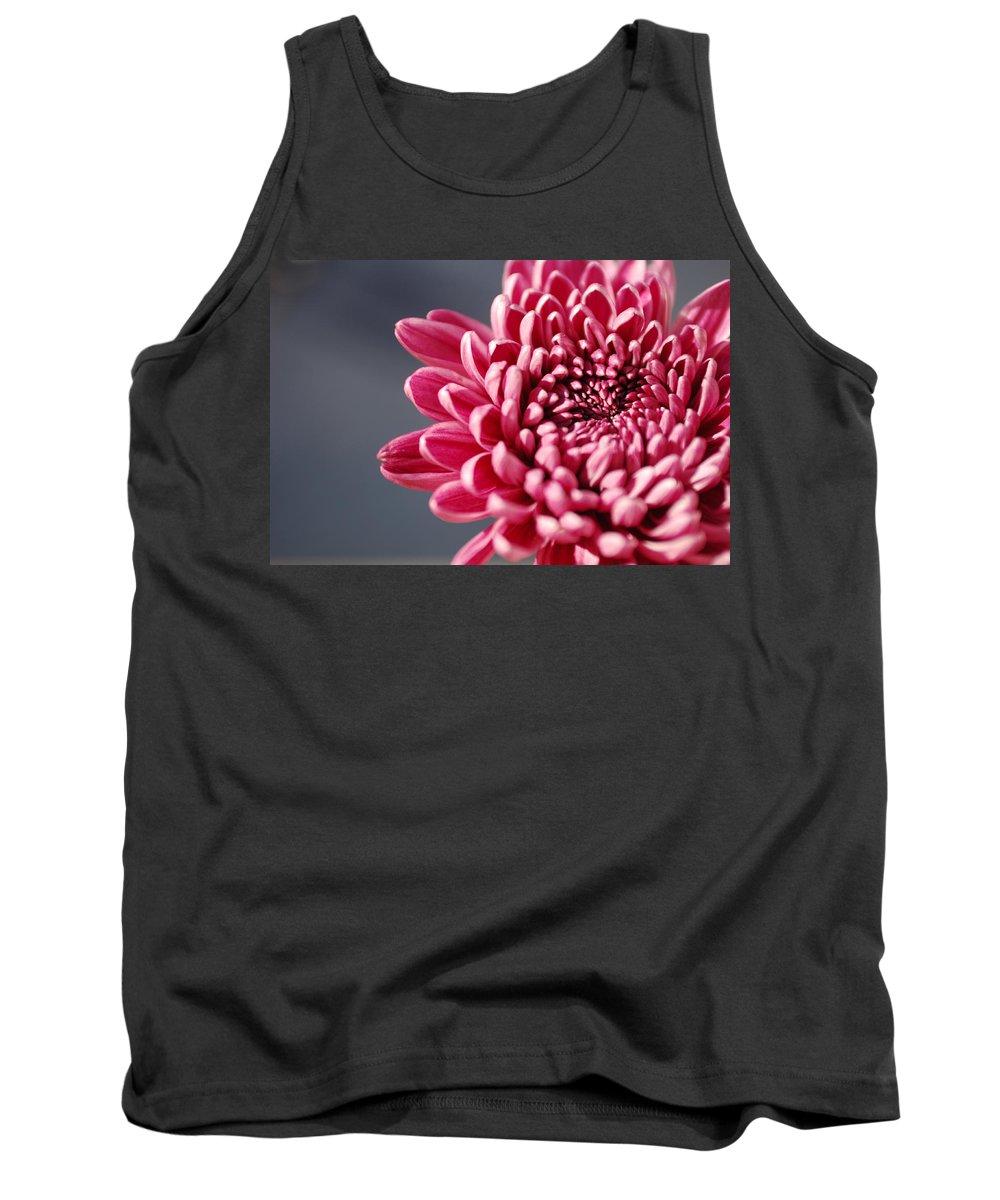 Flower Tank Top featuring the photograph Pink Flower by Jill Reger