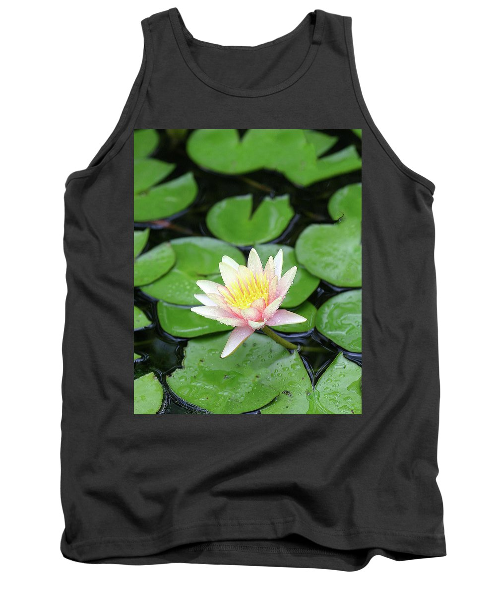 Lily Tank Top featuring the photograph Pretty In Pink by Shari Jardina