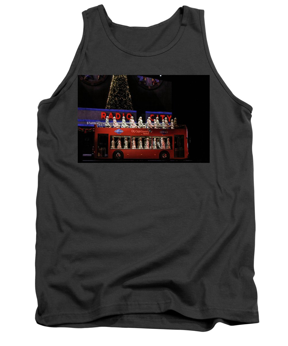 Holiday Tank Top featuring the photograph Radio City Rockettes New York City by Nicole Badger