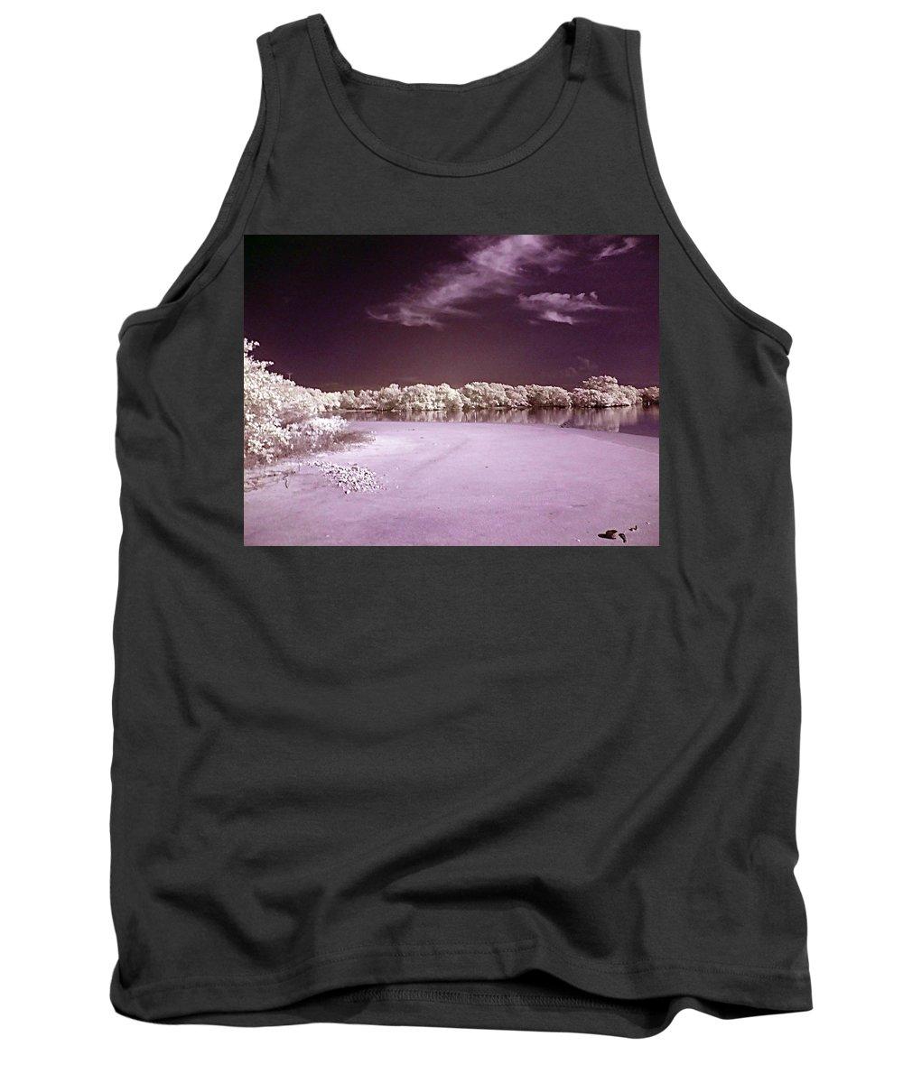 Landscape Tank Top featuring the photograph Seascape by Galeria Trompiz