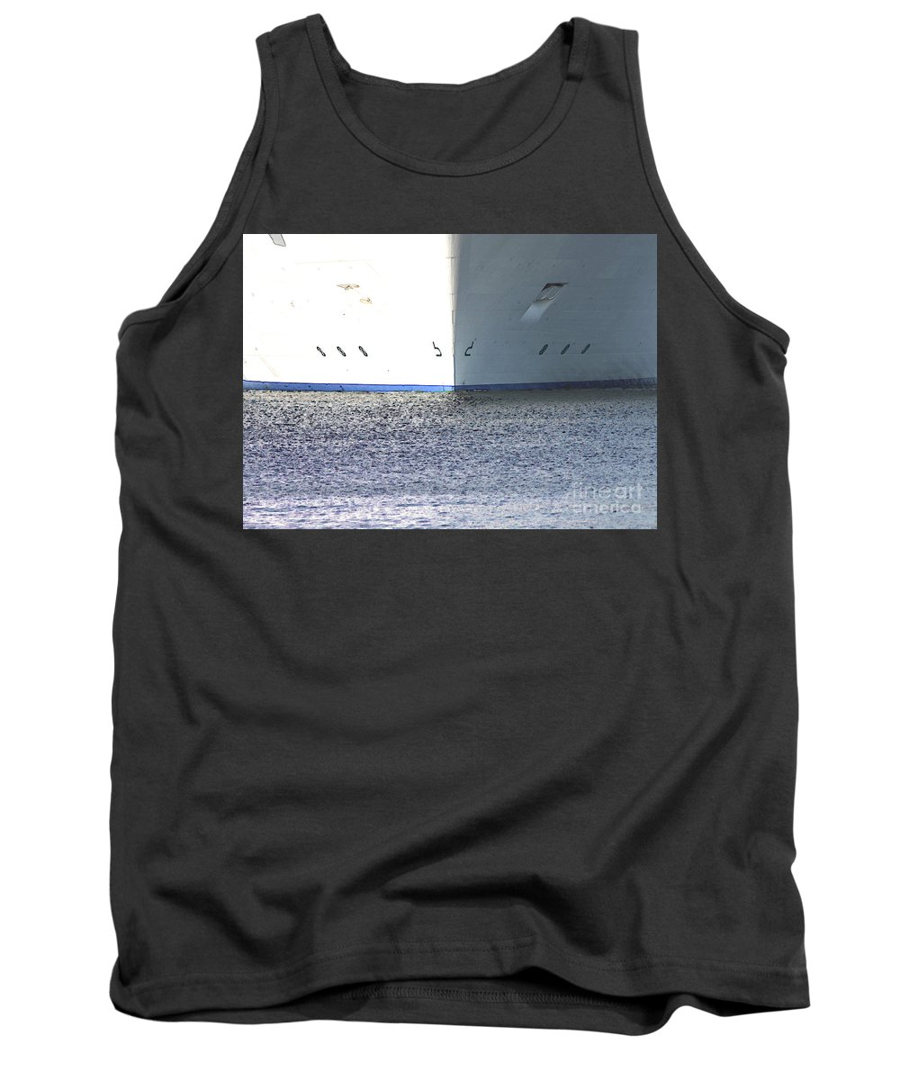 Ship Tank Top featuring the photograph Smooth Sailing by Carol Groenen