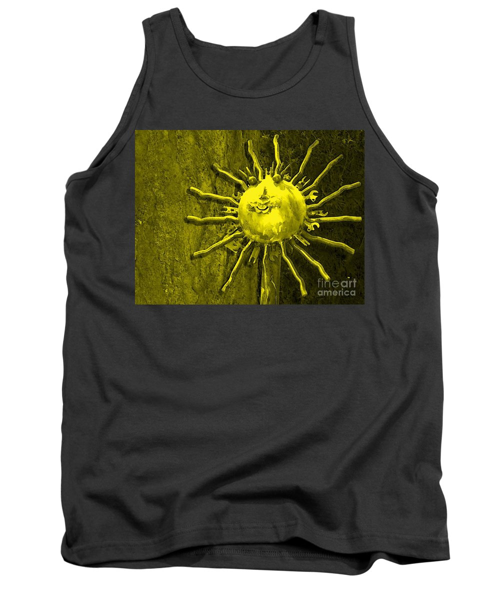 Sun Tank Top featuring the photograph Sun Tool by Debbi Granruth