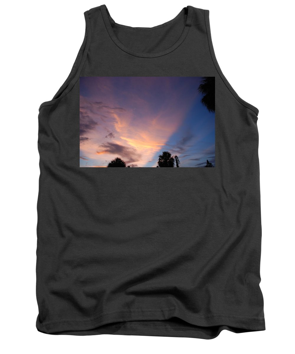 Sunset Tank Top featuring the photograph Sunset At Pine Tree by Rob Hans