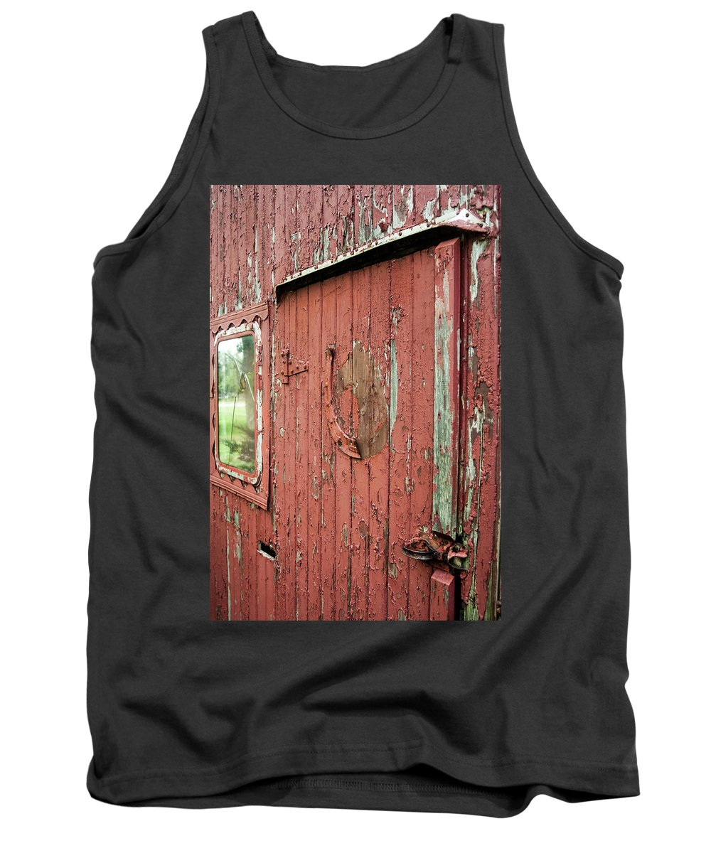 Tank Top featuring the photograph Tattered by Melissa Newcomb
