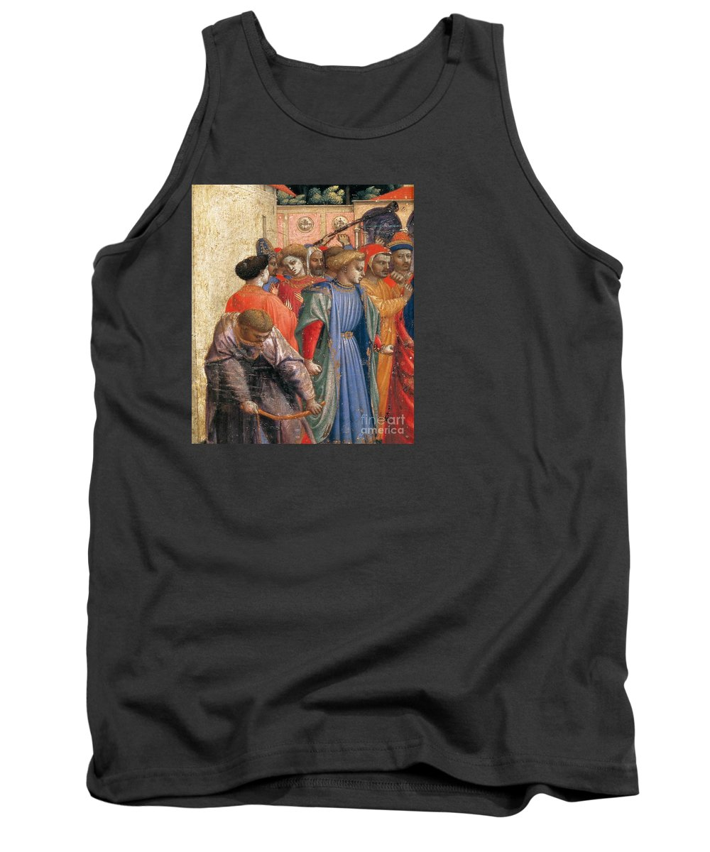 Fra Angelico Tank Top featuring the painting The Annunciation by Fra Angelico