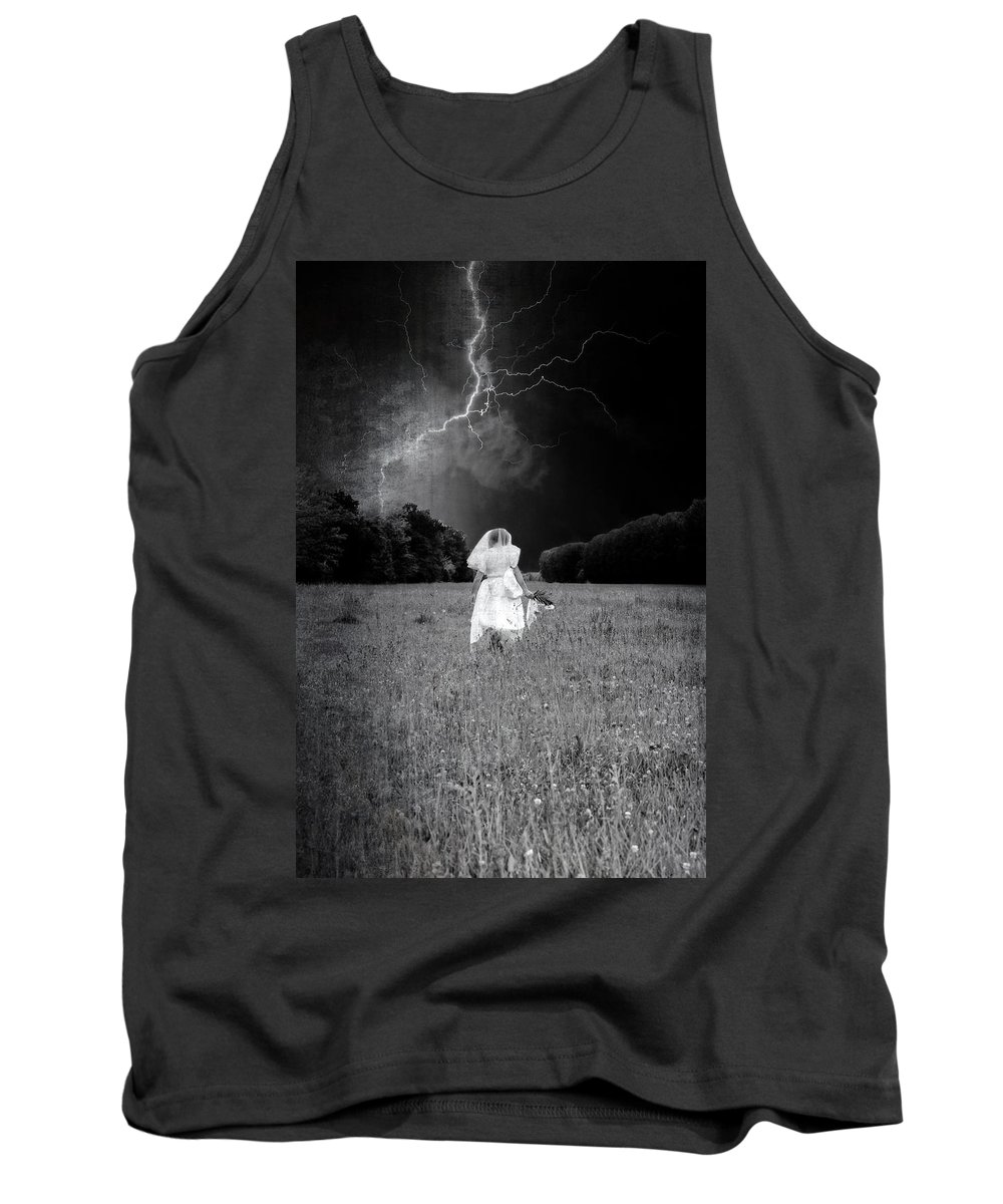 Female Tank Top featuring the photograph The Bride by Joana Kruse