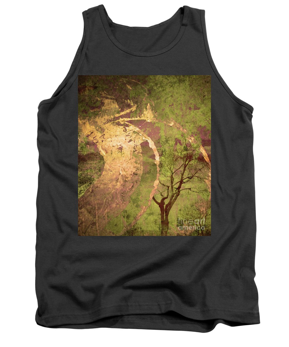 Tree Tank Top featuring the photograph The Fallen by Tara Turner