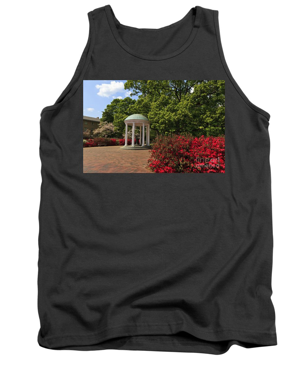 The Tank Top featuring the photograph The Old Well At Chapel Hill by Jill Lang