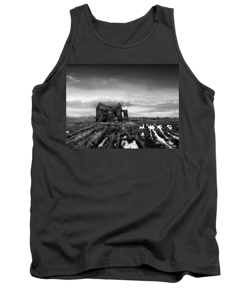 Architecture Tank Top featuring the photograph The Shack by Dana DiPasquale