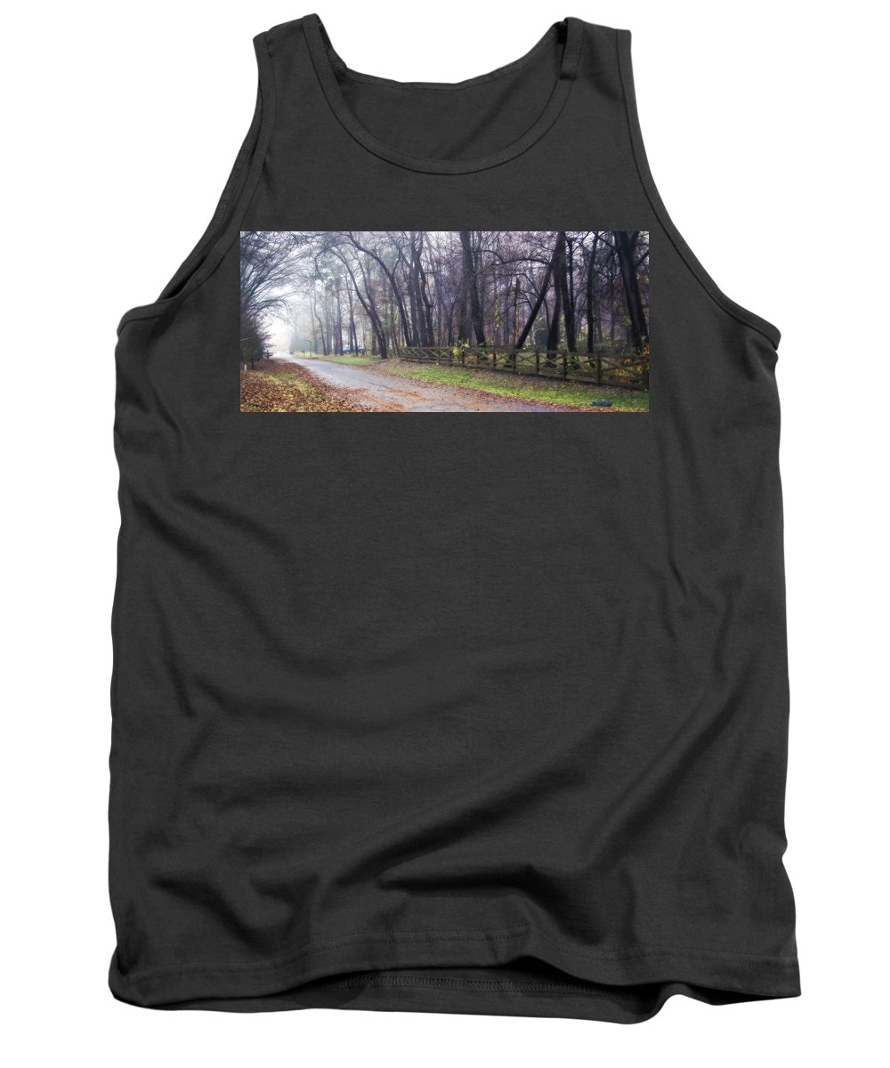 2d Tank Top featuring the photograph Thomas Road by Brian Wallace