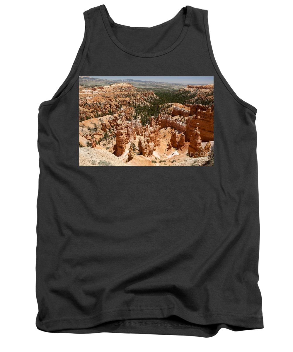 Bryce Canyon Tank Top featuring the photograph Bryce Canyon - Utah by Anthony Totah