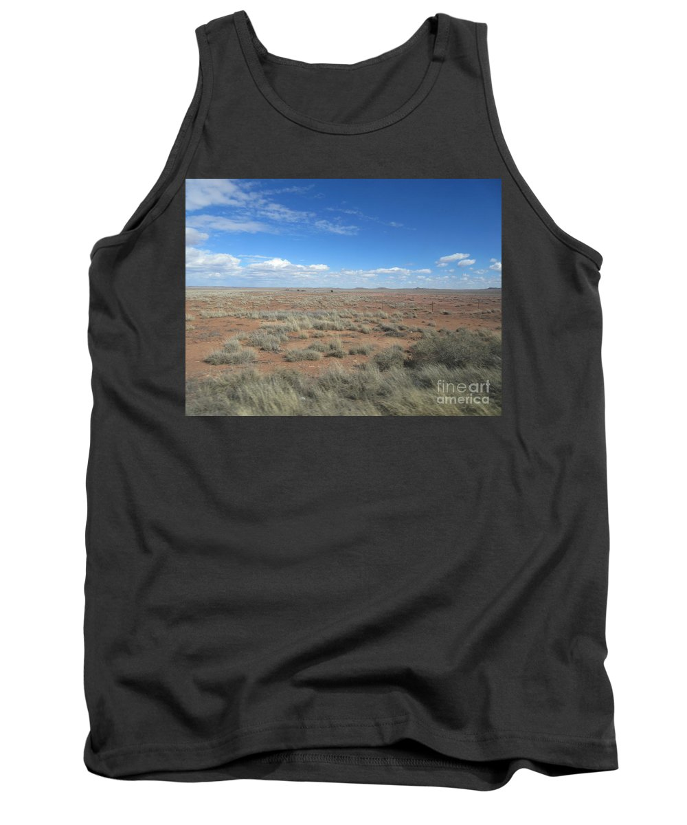 Arizona Tank Top featuring the photograph Arizona Landscape by Frederick Holiday
