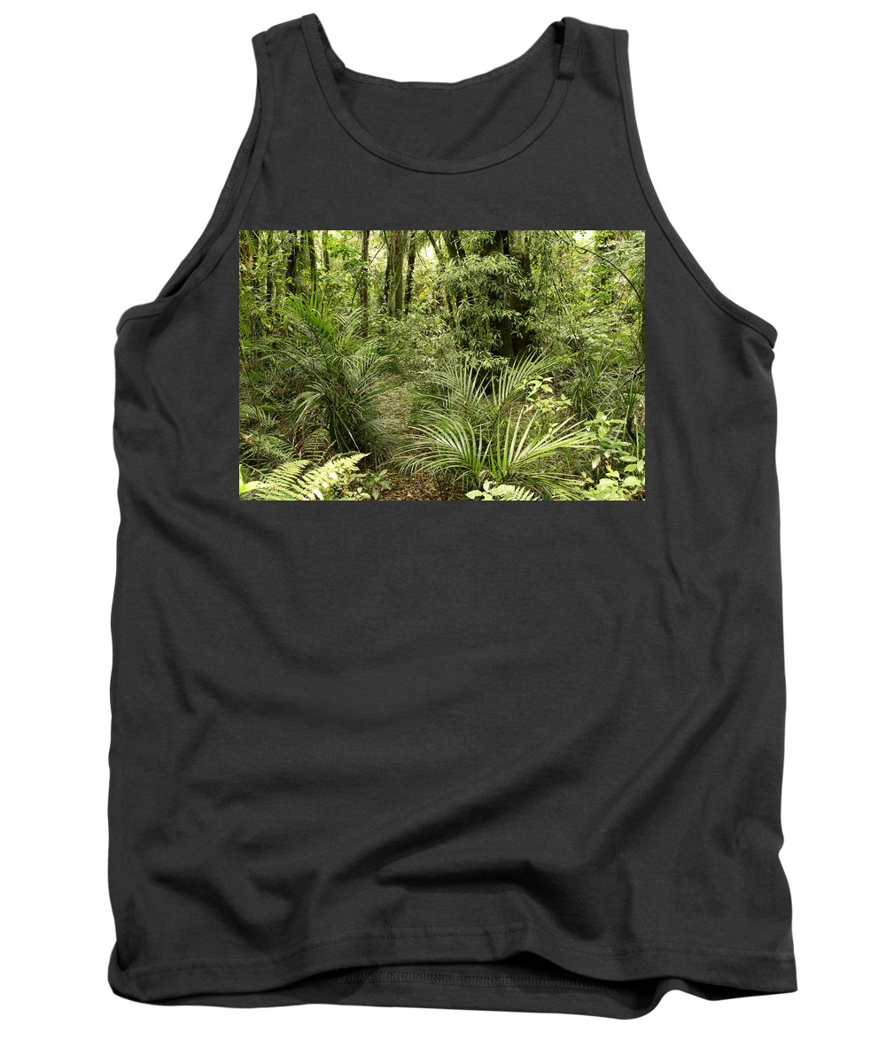 Rain Forest Tank Top featuring the photograph Jungle 31 by Les Cunliffe