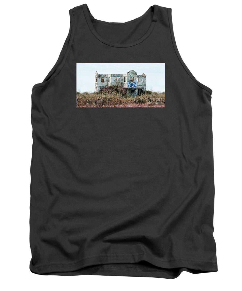 Landscape Tank Top featuring the photograph Msc by Caddelle Faulkner