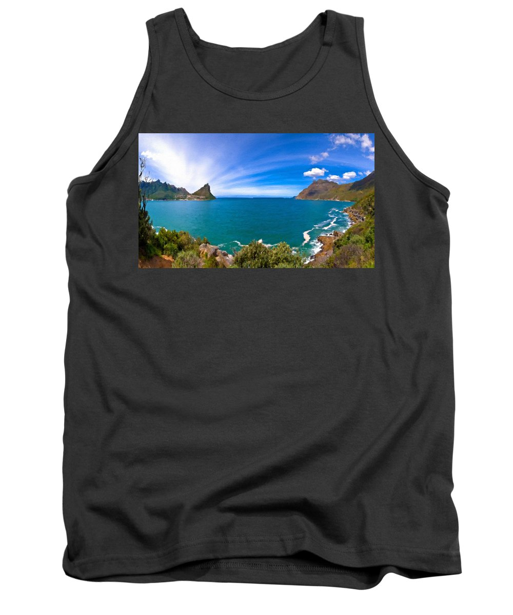 Large Tank Top featuring the digital art Nature Pictures by Usa Map
