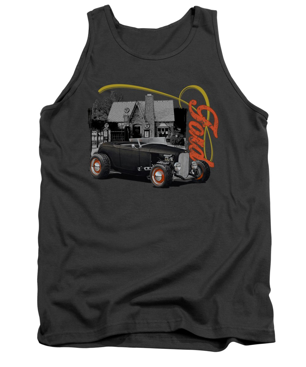 Gas Station Tank Tops